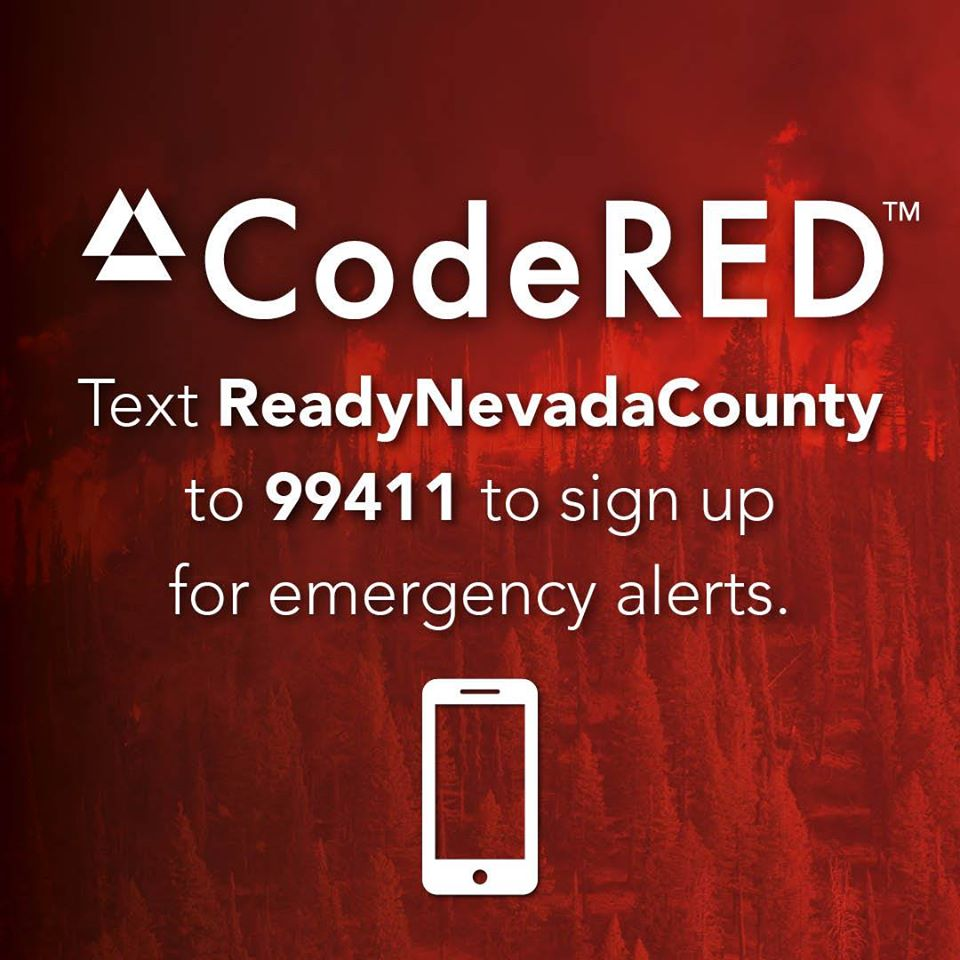 nevada county code red