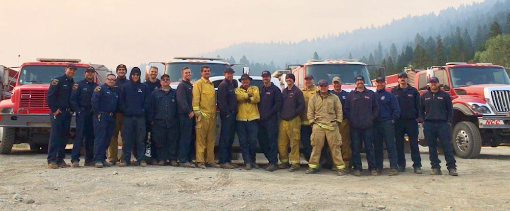 our team of firefighters