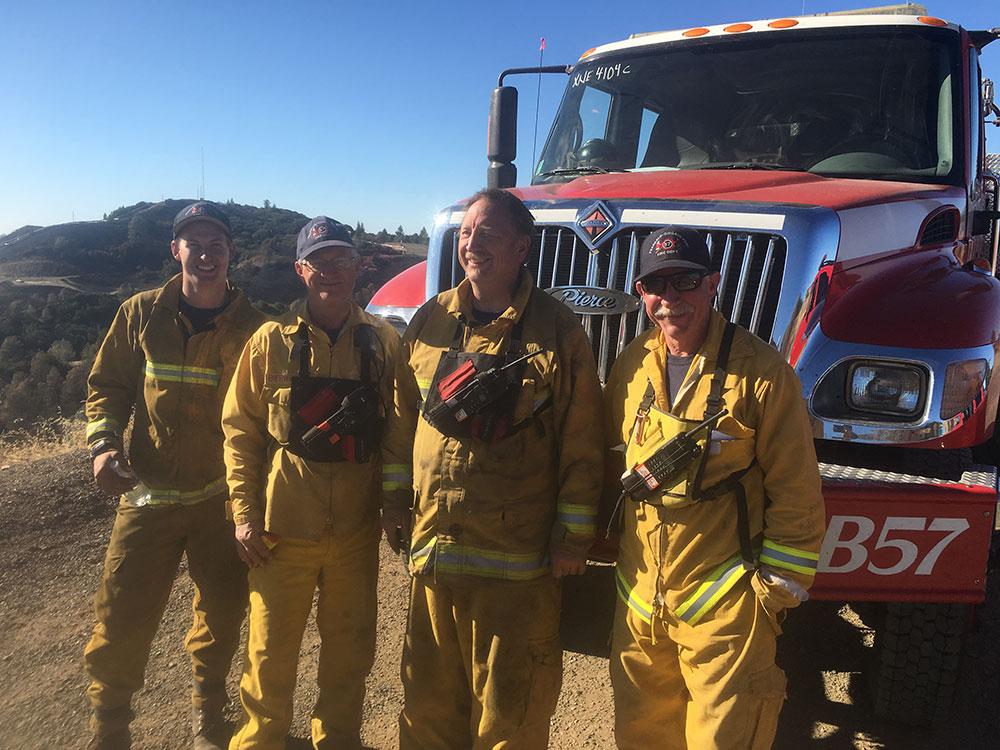 PCPFPD Strike Team with Chief Bierwagen